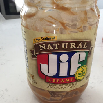 Jif Natural Peanut Butter Spread Low Sodium uploaded by Alaina D.
