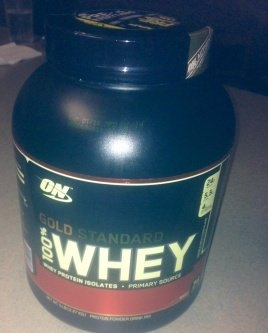 Optimum Nutrition Gold Standard Natural 100% Whey Protein uploaded by Scheria S.