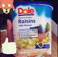 Dole 100% Natural Raisins California Seedless uploaded by Lorena M.
