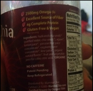 Photo of Mamma Chia Vitality Beverage Raspberry Passion uploaded by Melissa M.