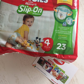 Huggies® Little Movers Slip-On Diaper Pants uploaded by Courtney G.