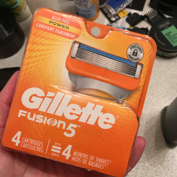 Photo of Gillette® Fusion5™ Razor uploaded by Kat D.