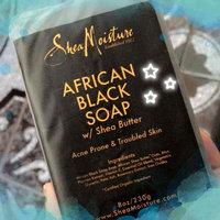 SheaMoisture African Black Soap Bar uploaded by Diana B.