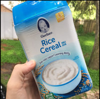 Gerber® Single Grain Baby Cereal | Rice uploaded by Samantha M.