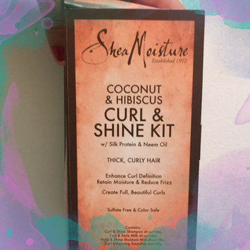 Photo of SheaMoisture Coconut & Hibiscus Curl & Shine Kit uploaded by Alejandra P.