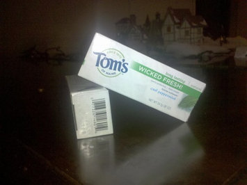 Photo of Tom's of Maine Wicked Fresh! Toothpaste uploaded by Christina L.