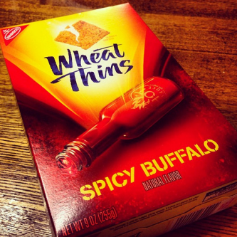 Wheat Thins Spicy Buffalo  uploaded by Natasha T.