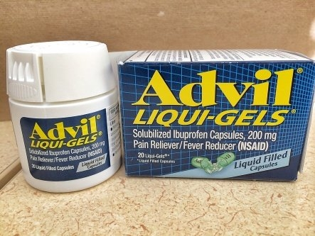 Advil Ibuprofen Tablets 200 mg Gel Caplets - 100 CT uploaded by Dennis Y.