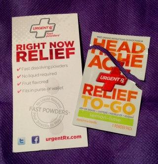 UrgentRx® Headache Relief to Go Powders uploaded by Veronica M.