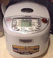 Zojirushi Pearl White Umami Micom Rice Cooker & Warmer - 5.5 cups uploaded by Prachi B.