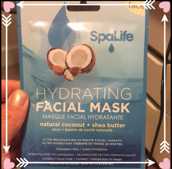 Photo of My Spa Life Coconut Plus Shea Butter Hydrating Facial Pellcule Facial Wraps - Total 6 Treatment, 2 Pack Of 3 uploaded by Brandy D.