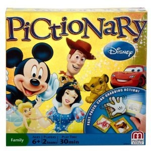 Mattel Disney Pictionary DVD Game Ages 8 and up uploaded by tiffany r.