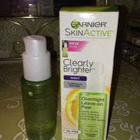 Garnier SkinActive Clearly Brighter Overnight Leave-On Peel uploaded by Genedra T.