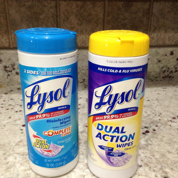 Photo of Lysol Dual Action Disinfecting Wipes uploaded by Nka k.
