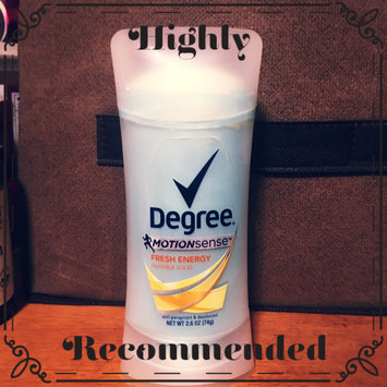 Photo of Degree® Expert Protection with MotionSense™ uploaded by Crystal F.