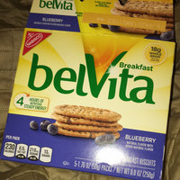 belVita Breakfast Biscuits 5 Pack Blueberry Breakfast Biscuits uploaded by Olivia F.