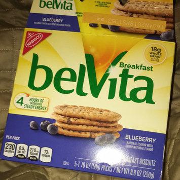 belVita Breakfast Biscuits 5 Pack Blueberry Breakfast Biscuits uploaded by Olivia F.