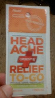 UrgentRx® Headache Relief to Go Powders uploaded by Valarie H.