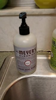 Mrs. Meyer's Clean Day Liquid Dish Soap uploaded by Fran E.