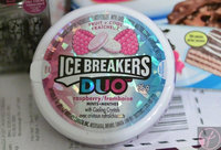 Ice Breakers DUO Fruit & Cool Sugar Free Mints, Raspberry, 8 ea uploaded by Fiona M.