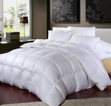 Photo of Egyptian Comfort 1200 Thread Count Egyptian Cotton White Goose Down Comforter Full/Queen uploaded by Vickina I.