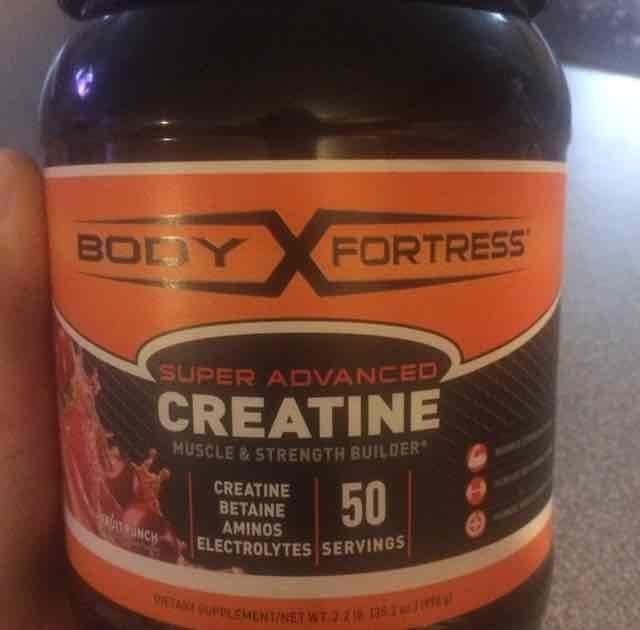 Body Fortress Super Advanced Creatine, Fruit Punch, 2.2 lb uploaded by Maritza R.