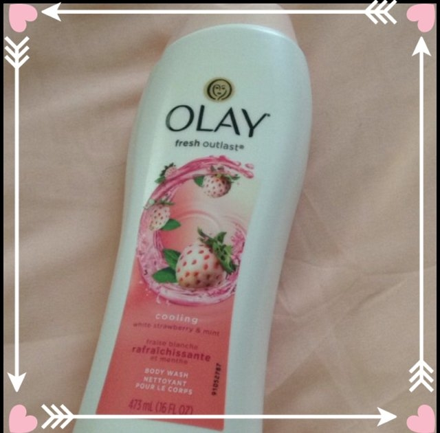 Olay Fresh Outlast Body Wash, Cooling White Strawberry & Mint, 13.5 fl oz uploaded by Theresa C.