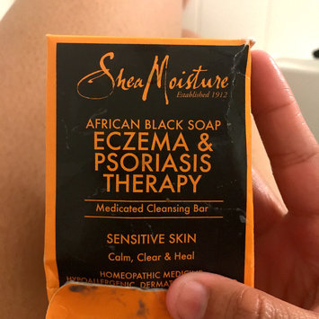 Photo of SheaMoisture African Black Soap Eczema & Psoriasis Therapy uploaded by shania z.