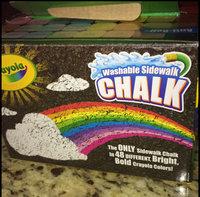 Crayola Washable Sidewalk Chalk, 48 Assorted Bright Colors uploaded by Anita L.