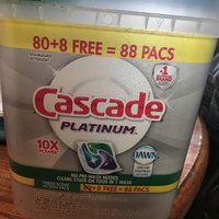 Cascade® Platinum™ ActionPacs™ Dishwasher Detergent, Fresh Scent uploaded by Audra W.