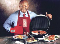 George Foreman Grill Cooking uploaded by Shay A.