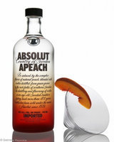 Absolut Apeach Vodka uploaded by Deanna W.