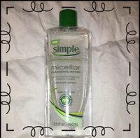 Simple® Micellar Water Cleanser uploaded by Kelli G.