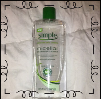 Simple® Micellar Water Cleanser uploaded by Kelli G.