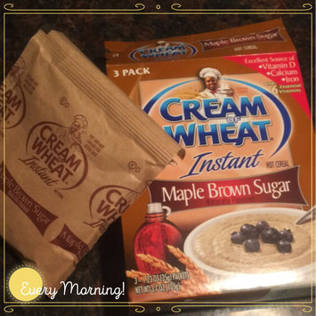 Cream of Wheat Instant Hot Cereal Maple Brown Sugar - 3 PK uploaded by Suelinn B.