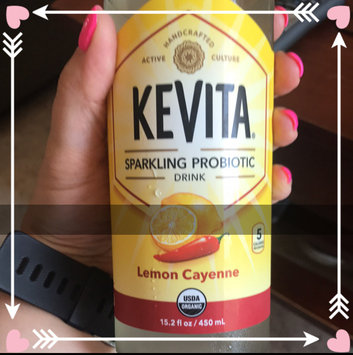 KeVita Delicious Vitality Sparkling Probiotic Drink Lemon Cayenne Cleanse uploaded by Melissa V.