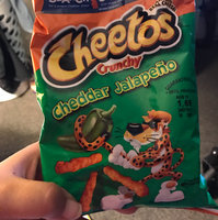 Cheetos Crunchy Cheddar Jalapeno uploaded by Raquel C.