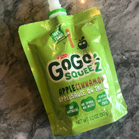 GoGo SQUEEZ APPLE CINNAMON APPLESAUCE ON THE GO uploaded by Suzanne M.