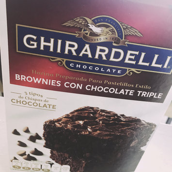 Photo of Ghirardelli Chocolate Brownie Mix Triple Fudge uploaded by Fernanda L.