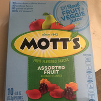 Mott's® Medleys Assorted Fruit Flavored Snacks uploaded by Shantell M.
