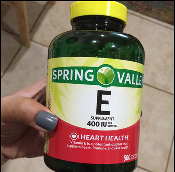 Photo of Spring Valley E Vitamin Dietary Supplement 500 ct uploaded by Ruzzy G.