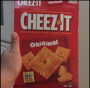 Cheez-It® Original Baked Snack Crackers uploaded by Ruzzy G.