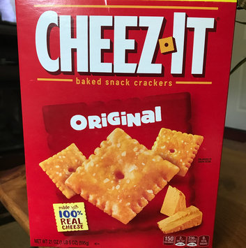 Cheez-It® Original Baked Snack Crackers uploaded by Jennifer F.
