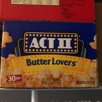 Act II® Butter Lovers® Microwave Popcorn uploaded by Meyling M.