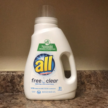 Photo of all free clear Laundry Detergent uploaded by Miranda F.