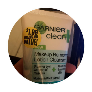 Photo of Garnier Skinactive Clean + Makeup Removing Lotion Cleanser uploaded by Jazmin M.