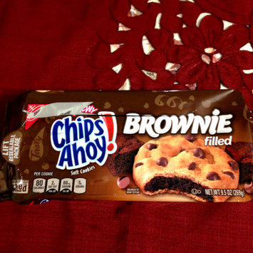 Photo of Nabisco Chips Ahoy! Chewy Brownie Soft Cookies uploaded by Nka k.