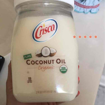 Crisco® Pure Organic Coconut Oil 27 fl. oz. Jar uploaded by Sarah H.