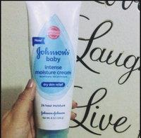 Johnson's® Baby Intense Moisture Cream uploaded by Marbelis A.