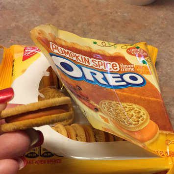 Photo of Nabisco Oreo Pumpkin Spice Creme Sandwich Cookies uploaded by Donnamarie L.